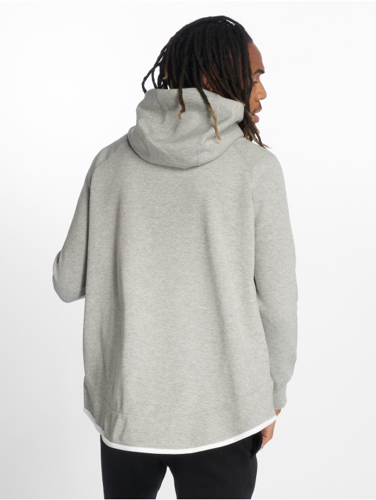 Nike Zip Hoodie Tech Fleece grey