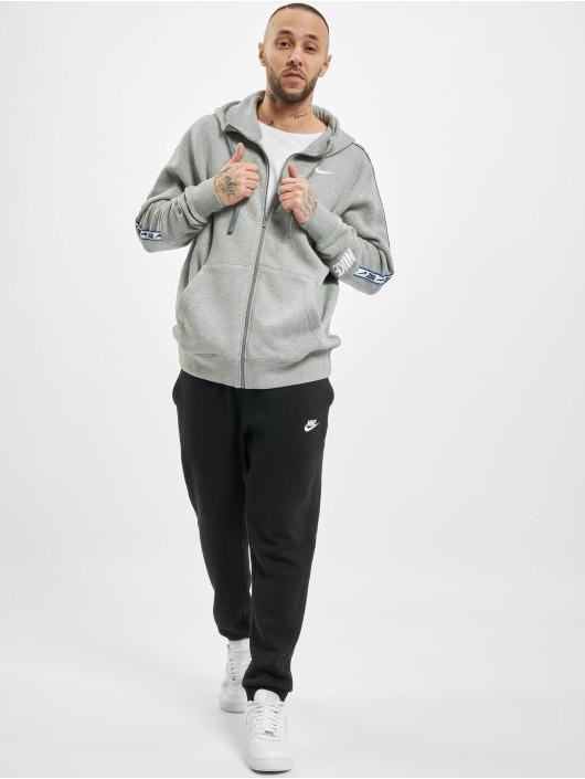 Nike Zip Hoodie Repeat Fleece Full Zip grey
