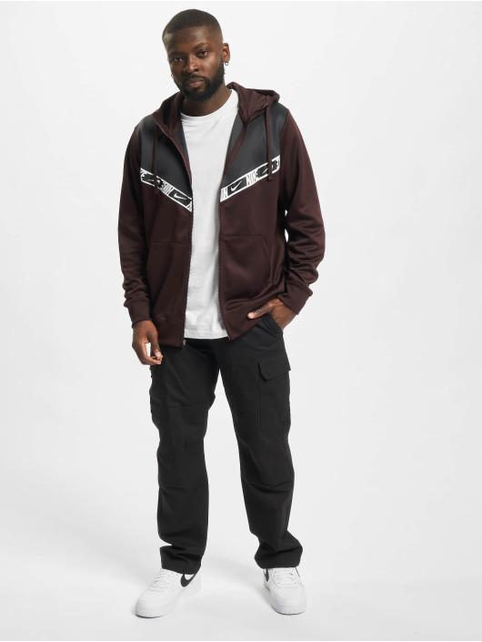 Nike Zip Hoodie Repeat PK hnědý