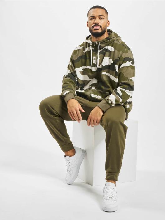 Nike Zip Hoodie Club FZ FT Cam oliwkowy
