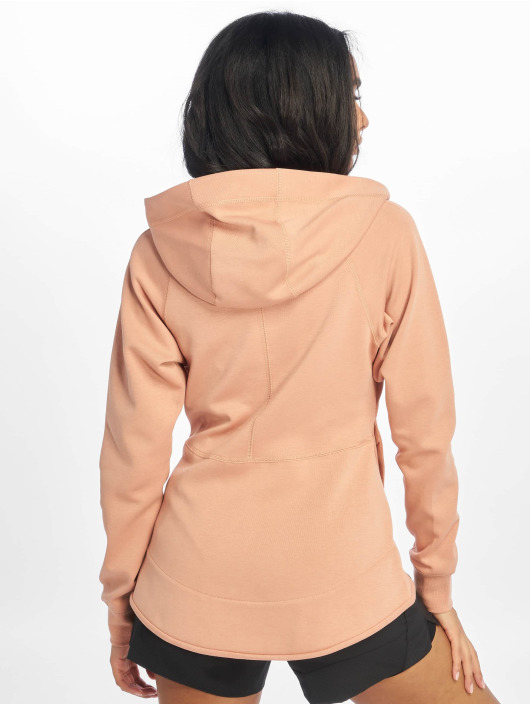 Nike Zip Hoodie Tech Fleece rose