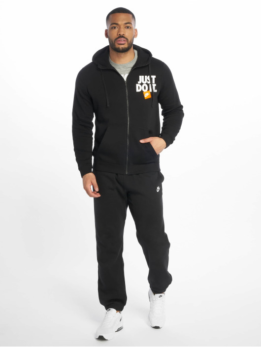 Nike Zip Hoodie JDI FZ Fleece schwarz