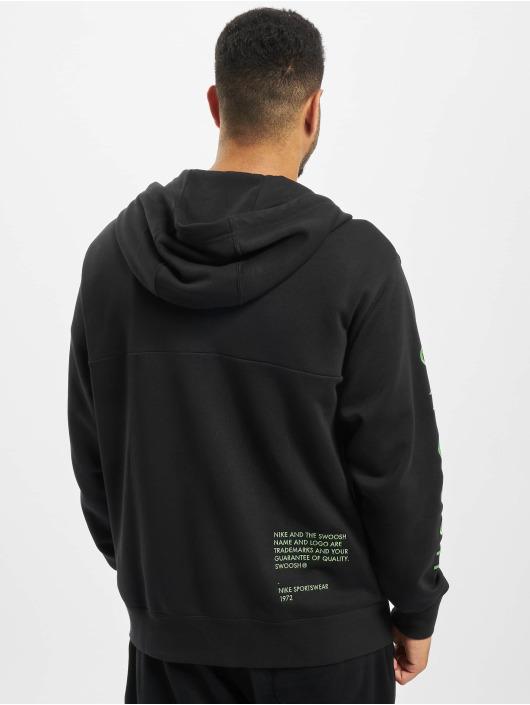 Nike Zip Hoodie Swoosh schwarz