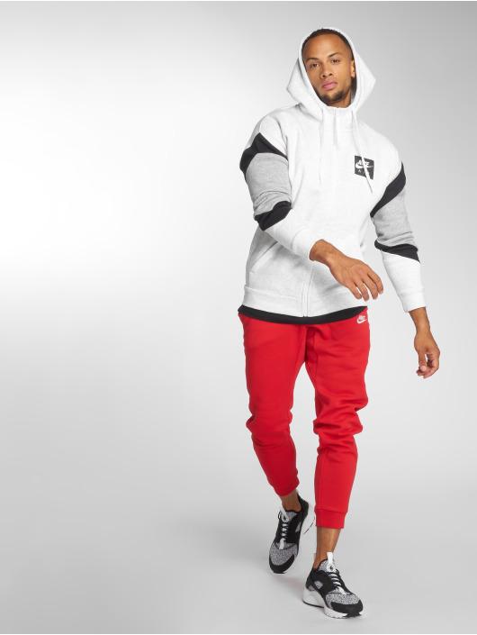 Nike Zip Hoodie Transition szary