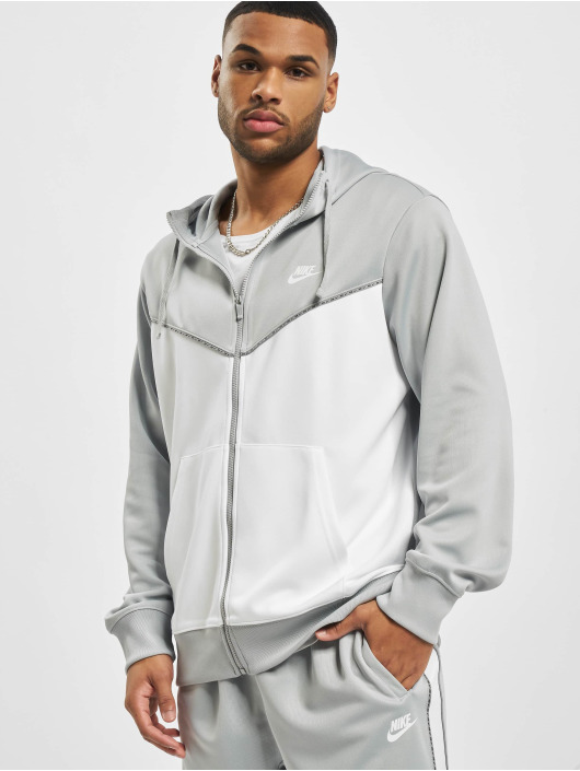 Nike Zip Hoodie M Nsw Repeat Pk Fz szary