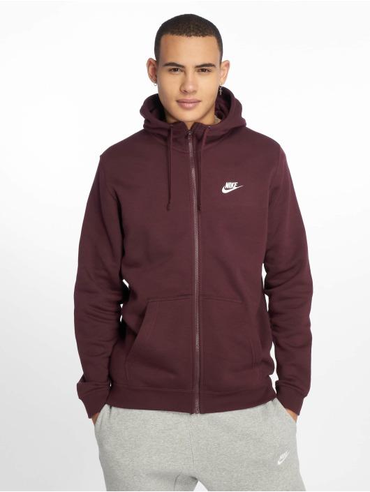 Nike Zip Hoodie Sportswear violet