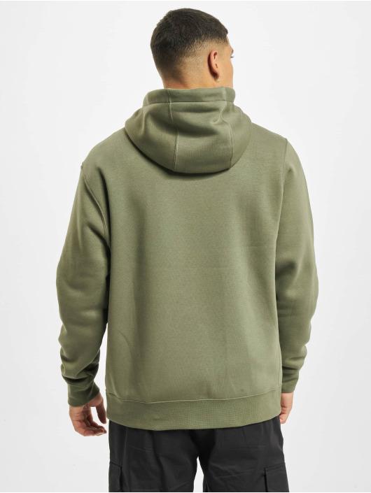 Nike Zip Hoodie M Club Full zielony