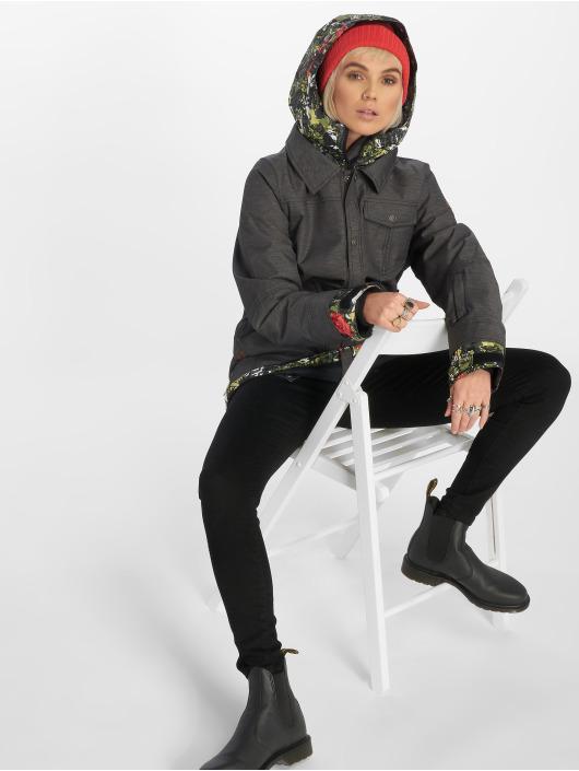 Nikita Winterjacke Cypress Stretch schwarz