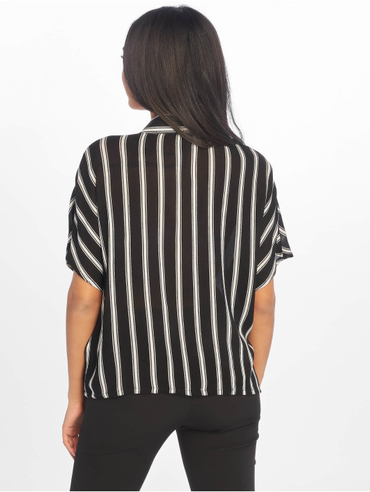 Noisy May Bluse nmMelissa Short Sleeve 2 schwarz