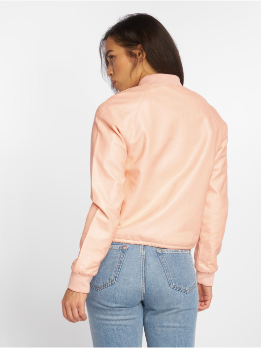 NMShine Pale Noisy Bomber Peach May Jacket zSpVUM