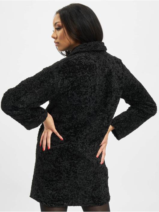 Noisy May Coats nmCaleb Long black