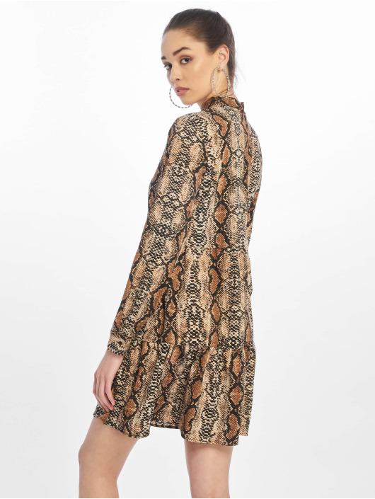 Noisy May Dress nmSnake brown