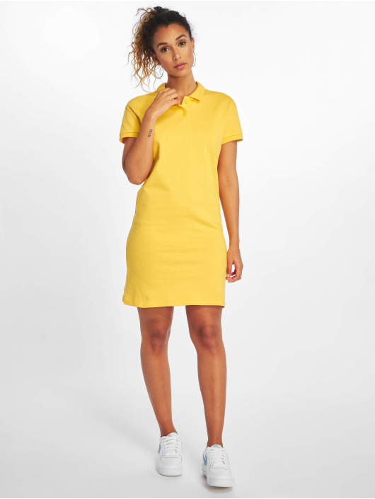 Noisy May Dress nmNoah yellow