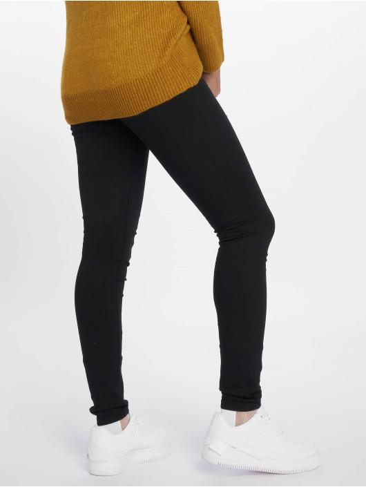 c2819ab8 Berømte Noisy May Jeans / Højtaljede bukser nmEllaSuper High Waist i sort  HA64