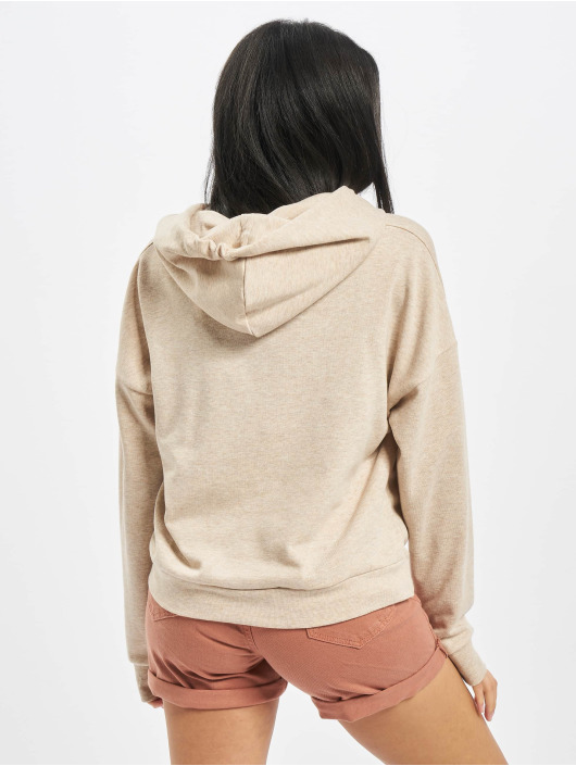 Noisy May Hoody nmSetter beige