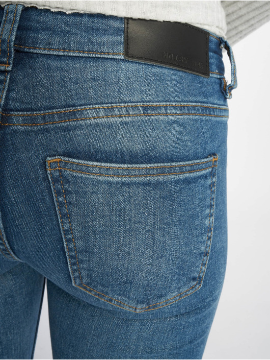 Noisy May Jean skinny nmEve Organic bleu