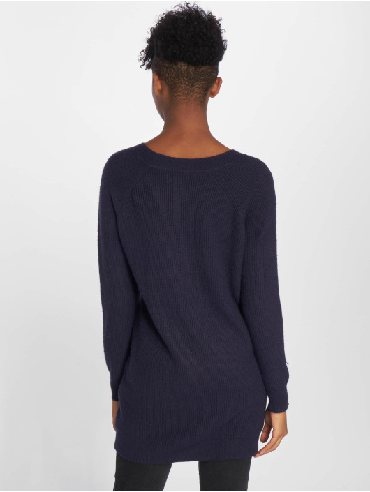 Noisy May Kleid nmSati Cable Knit blau