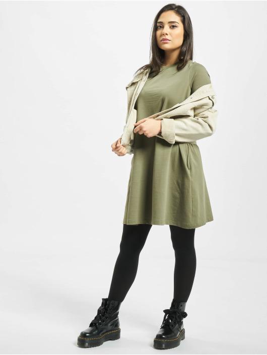 Noisy May Kleid nmLuni Pocket olive
