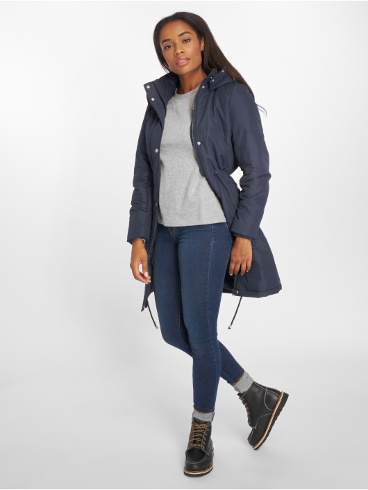 Noisy May Manteau NMCamil bleu