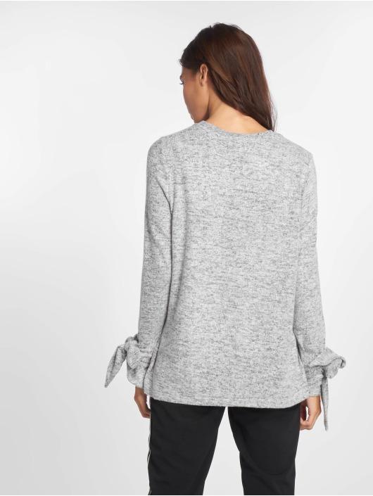 Noisy May Pullover Nmmillie L/s O-Neck Knit 6 gray