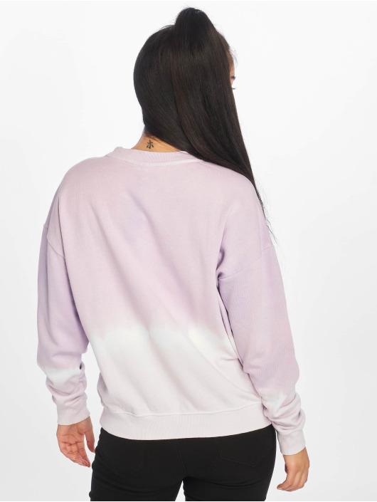 Noisy May Pullover nmChris Dip Dye purple