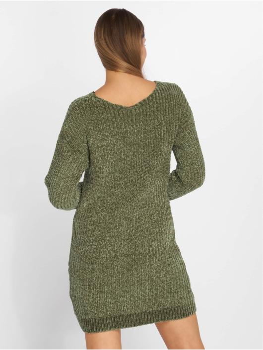 Noisy May Robe nmMaria Knit olive