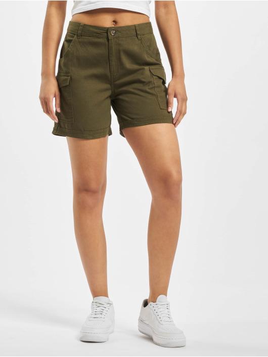 Noisy May shorts nmLouise Nw olijfgroen