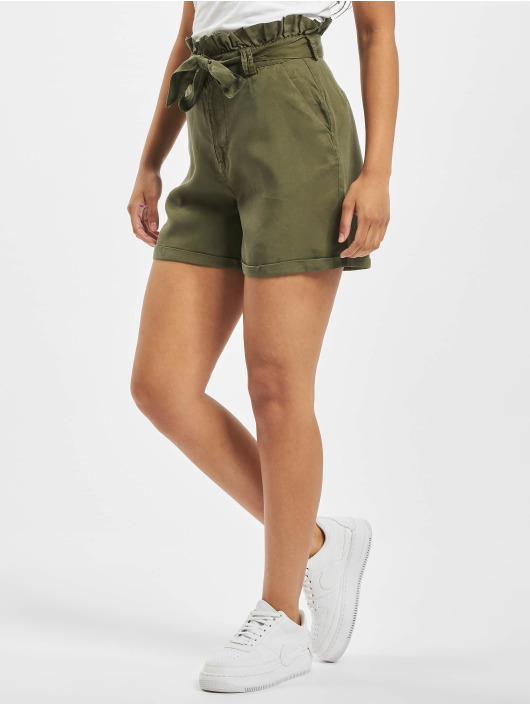 Noisy May Shorts nmEndi Belted olive