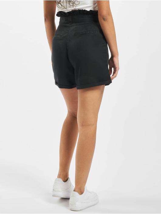 Noisy May Shorts nmEndi Belted svart