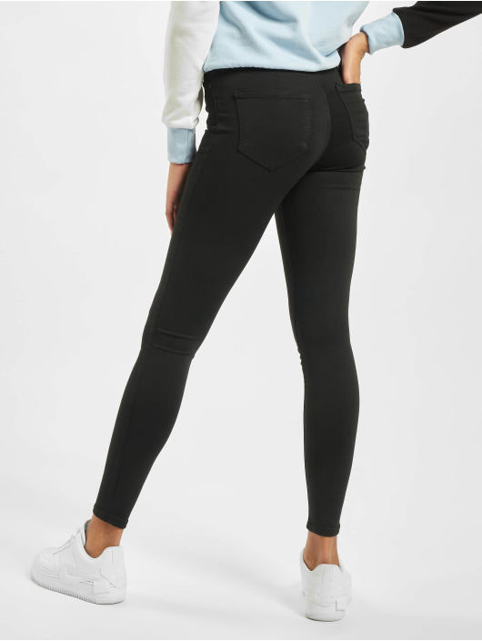 Noisy May Skinny Jeans nmLucy Normal Waist Power Shape Noos čern