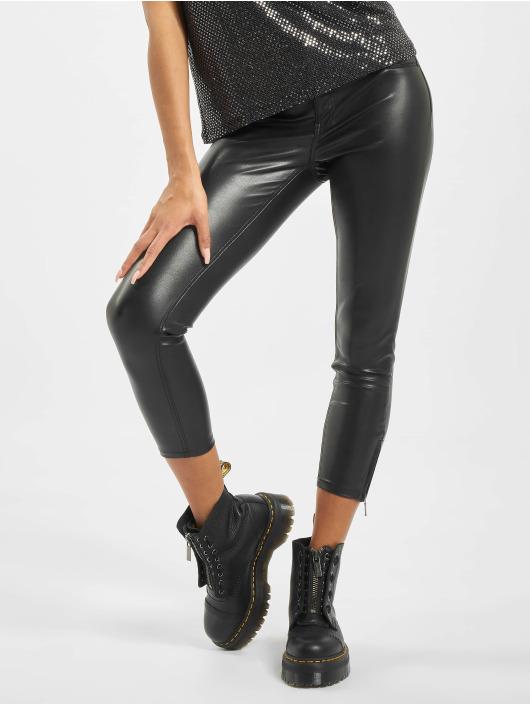 Noisy May Skinny Jeans nmKimmy Normal Waist Noos čern