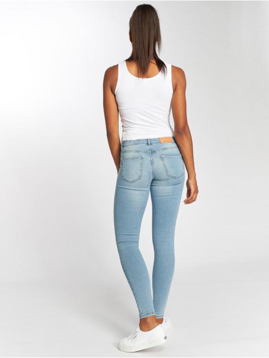 359e6ff8ae83 Noisy May nmEve LW Pocket Piping Jeans Light Blue Denim