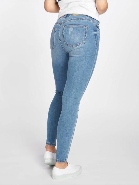 Noisy May Skinny Jeans nmLucy Coffee Dest blau