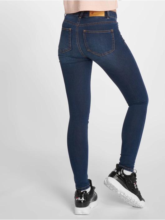 Noisy May Skinny Jeans nmLucy Coffee blau