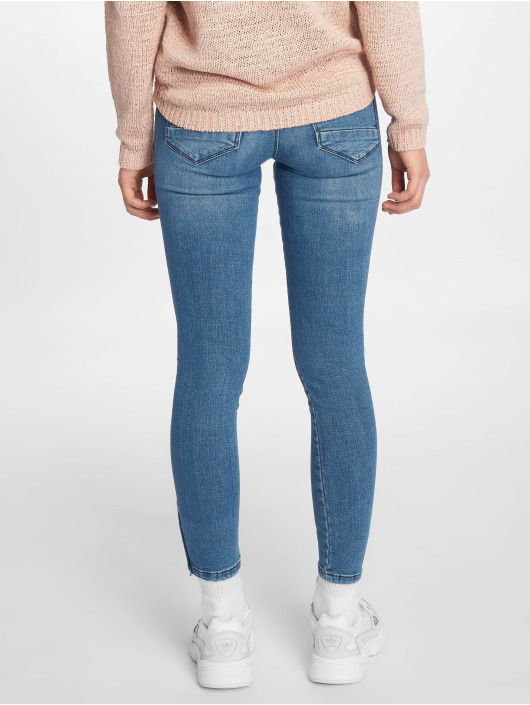 Noisy May Skinny Jeans nmKimmy blau
