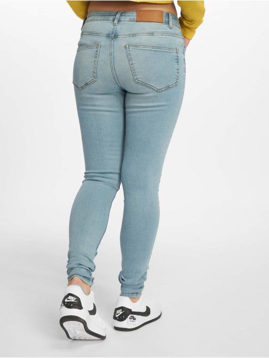 Noisy May Skinny Jeans nmLucy Normal Waist Noos blau