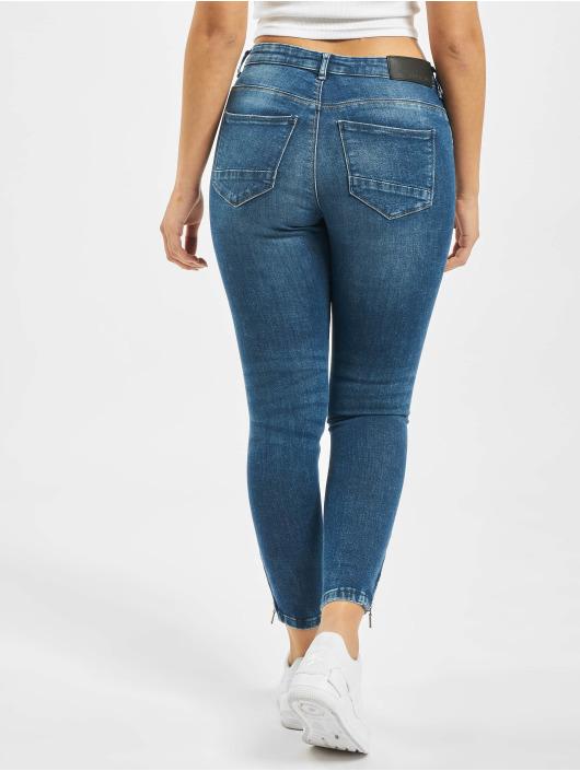Noisy May Skinny Jeans nmKimmy blau