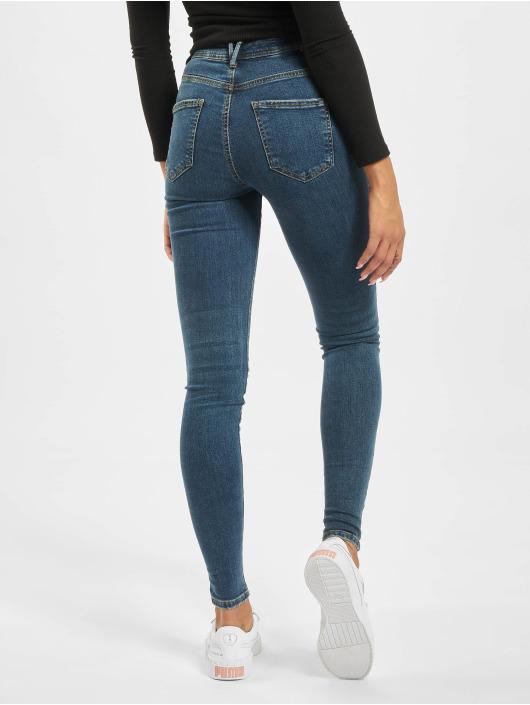Noisy May Skinny Jeans nmVicky Normal Waist blau