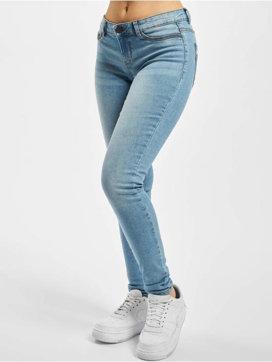 Noisy May Skinny Jeans nmEve Low Waist VI059LB blau
