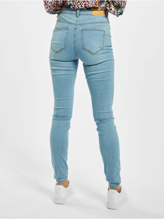 Noisy May Skinny jeans nmCallie Hw blauw