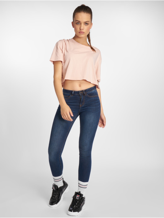 Noisy May Skinny Jeans nmLucy Coffee blue