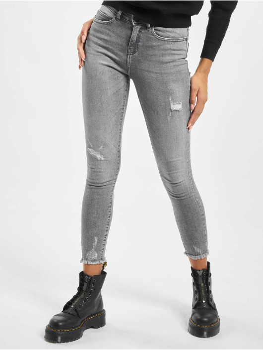 Noisy May Skinny jeans nmLucy grijs