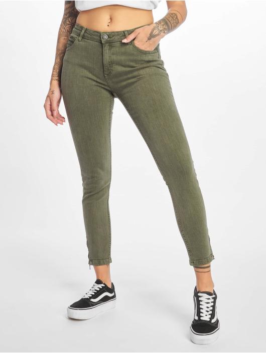 Noisy May Skinny Jeans nmKimmy oliven
