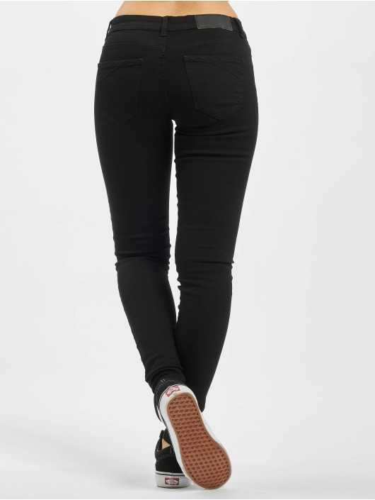 Noisy May Skinny Jeans nmEve Lw schwarz