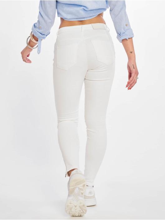 Noisy May Skinny Jeans nmKimmy Norma weiß