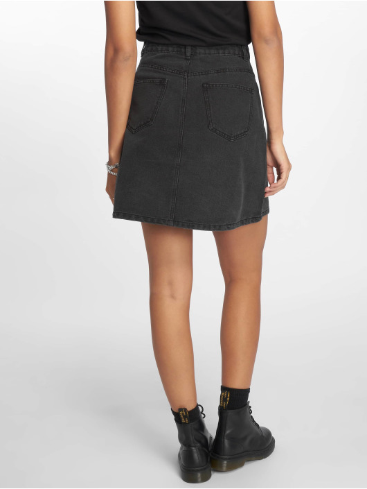 Noisy May Skirt nmSunny Noos Short Denim Skater black