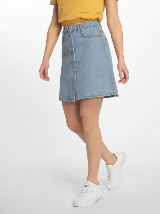 Noisy May Skirt nmSunny Noos Short Denim Skater blue