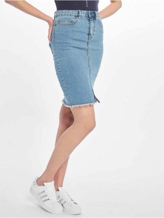 Noisy May Skirt nmBe Lexi High Waist Noos blue