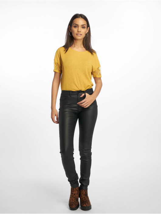 Noisy May Slim Fit Jeans nmLucy Deluxe svart