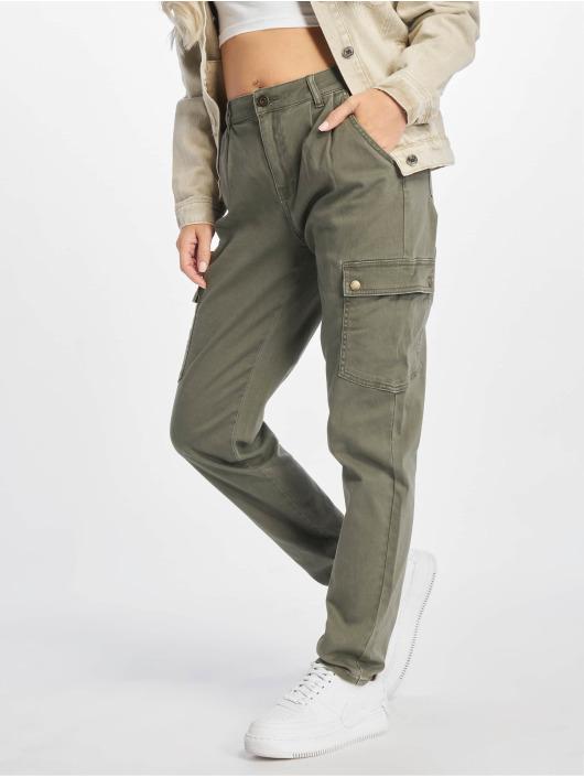 Noisy May Spodnie Chino/Cargo nmBronx oliwkowy